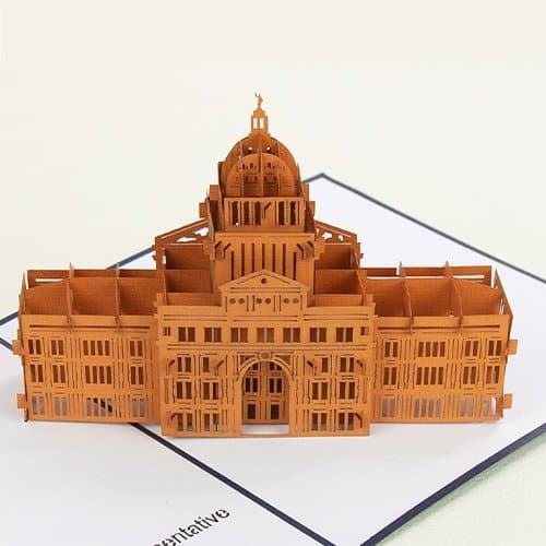Texas State Capitol closeup.